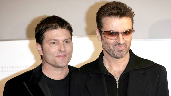Kenny Goss and George Michael together in 2005