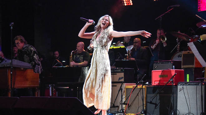 Joss Stone performing in March 2020