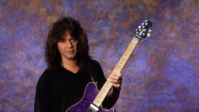 Eddie Van Halen in 1991