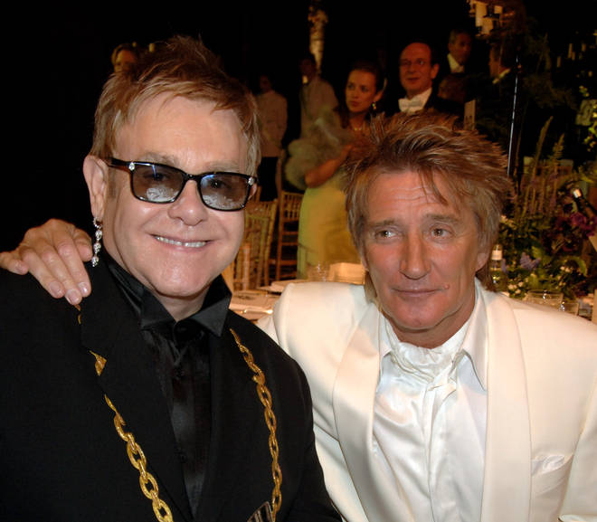 Sir Rod Stewart and Sir Elton John had a 'big falling out': 'We don't talk anymore'