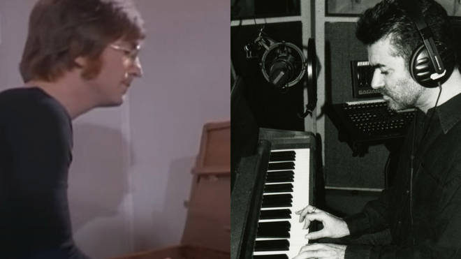 George Michael purchased the piano John Lennon used to write 'Imagine' in 2000