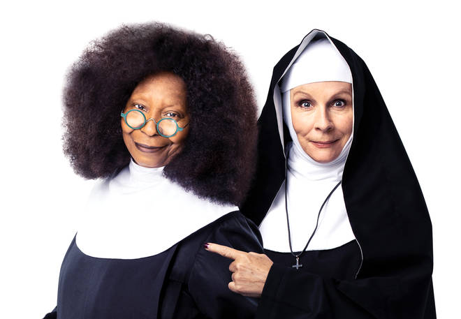 Sister Act The Musical: Whoopi Goldberg and Jennifer Saunders