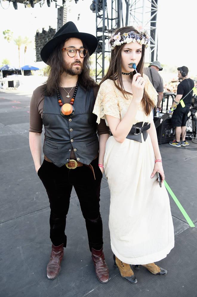 Sean Lennon and Charlotte Kemp Muhl in 2015