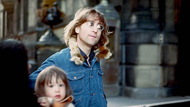 John , Yoko And Sean in 1977