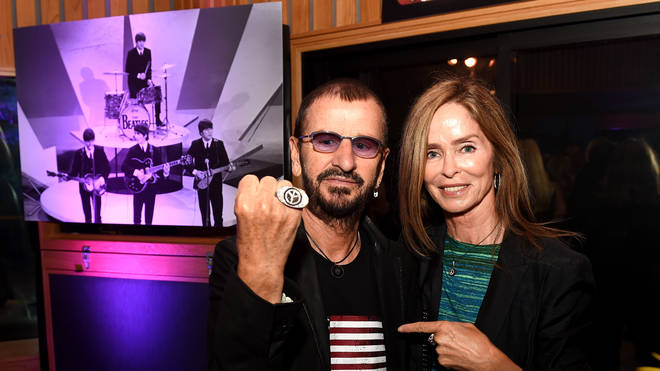 Ringo Starr and Barbara Bach in 2016