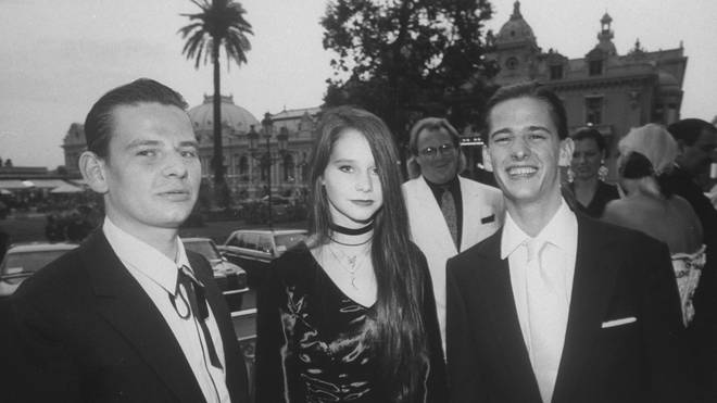 Zak, Lee and Jason Starkey in 1989