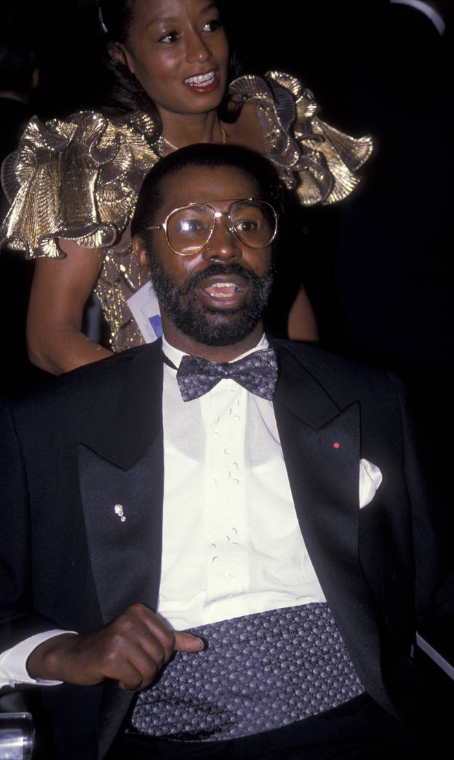 Teddy Pendergrass and his first wife Karen in 1990