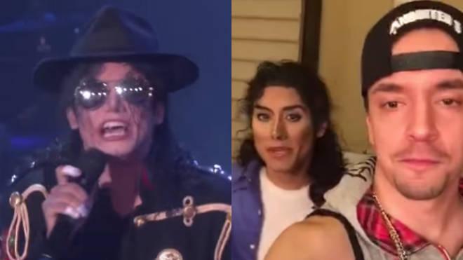 Michael Jackson impersonator Jeffrey Perez Jr