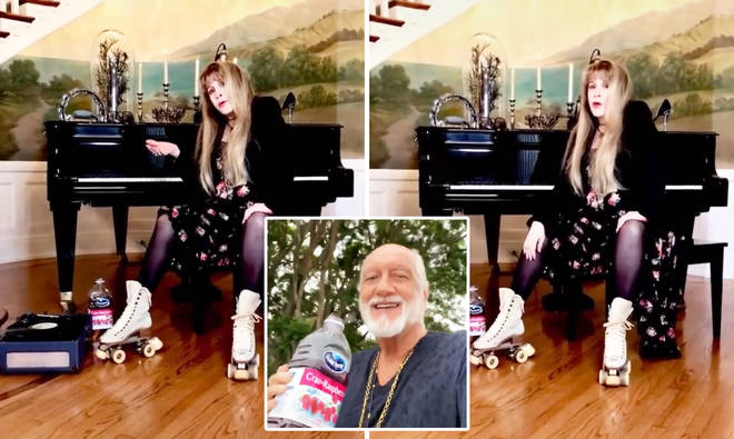 Stevie Nicks responds to 'Dreams' viral TikTok trend following Mick Fleetwood's video
