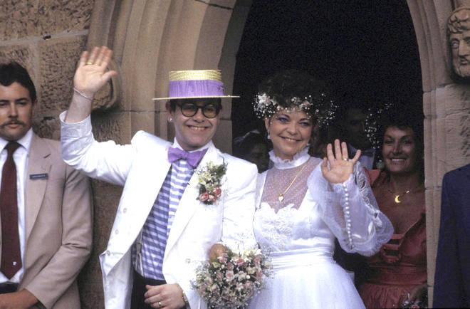 Sir Elton John settles £3 million court dispute with ex-wife Renate Blauel