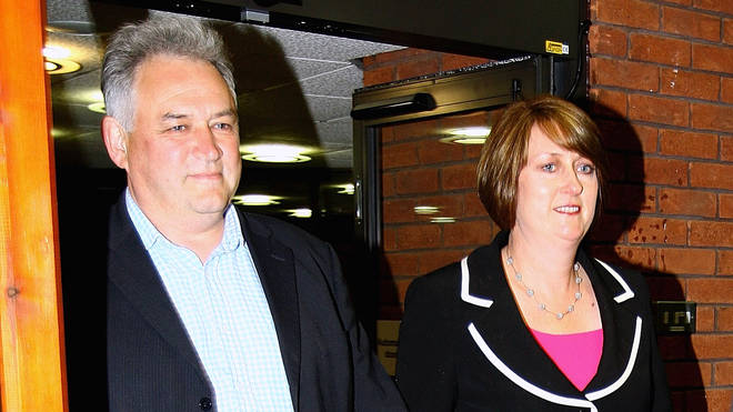 Jacqui Smith and her husband Richard in 2010