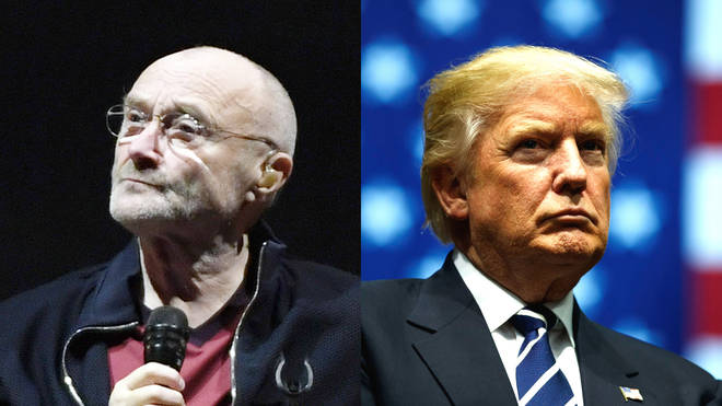 Phil Collins has banned his music being used by Donald Trump