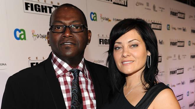 Randy Jackson and Erika Riker in 2010
