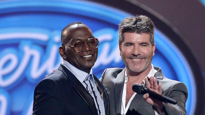Randy Jackson and Simon Cowell