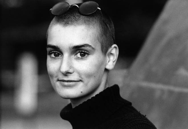 Sinead O'Connor in the early 1990s