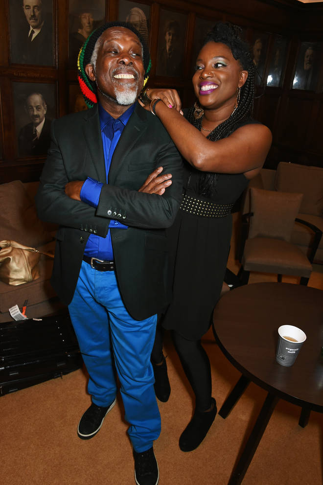 Billy Ocean with his daughter Cherie Charles in 2016