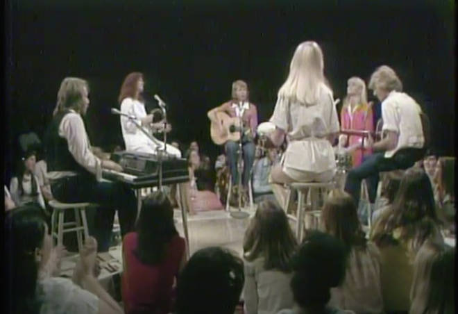 ABBA, Olivia Newton-John and Andy Gibb in informal 'jamming special' for TV special