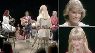 Relive Andy Gibb, ABBA and Olivia Newton-John's incredible 'jam session' from 1978