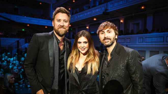 Lady A's Charles Kelley, Hillary Scott and Dave Haywood spoke to Smooth Country