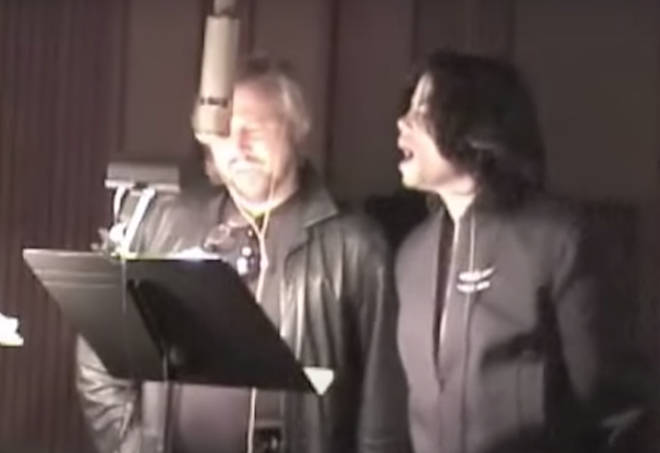 Barry Gibb and Michael Jackson recorded a duet together in 2002 but it was only released nine years later on June 25, 2011, the second anniversary of The King of Pop's death.