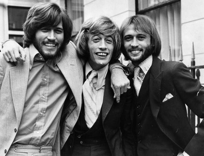 The Bee Gees and Michael Jackson's friendship. Pictured (L to R) brothers Barry, Robin and Maurice Gibb went back decades, with Barry Gibb naming one of his sons after the singer and Jackson attending fellow Bee Gee Maurice Gibb's funeral in 2003.