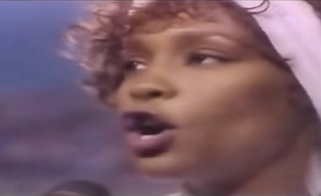 Whitney was belting out the powerful song to a nation on tenterhooks; it was ten days after the start of the Persian Gulf War and millions of people watched as the patriotic performer sang the national anthem to a world holding its breath.