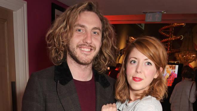 Seann Walsh and Rebecca Humphries
