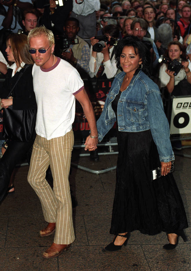 Rumours of the split were discussed by a source with The Sun last year, but this is the first time the separation has been confirmed. Pictured, Shirley and Luke in 1995.