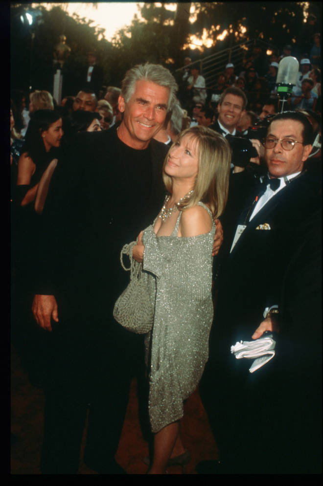 Barbra has been married to her second husband, James Brolin, since 1998. Pictured at the Oscars in 1997.