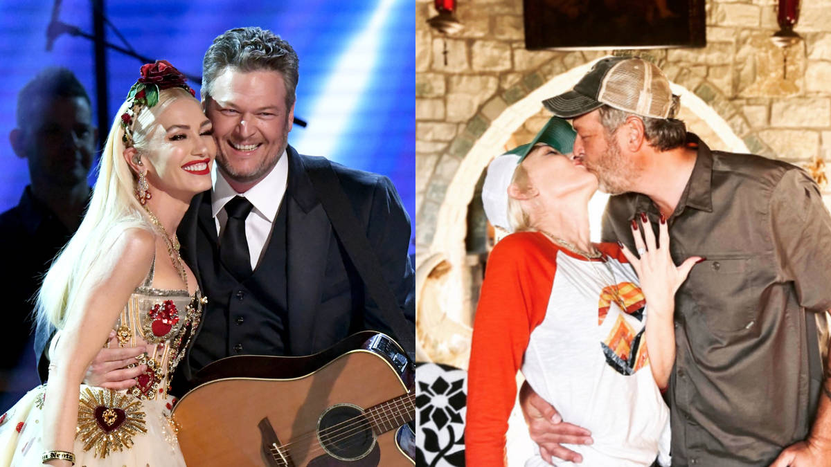 Blake Shelton and Gwen Stefani announce engagement after five years together