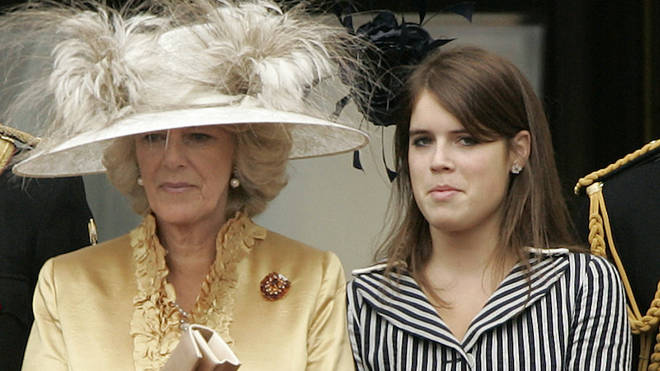 Camilla and Eugenie