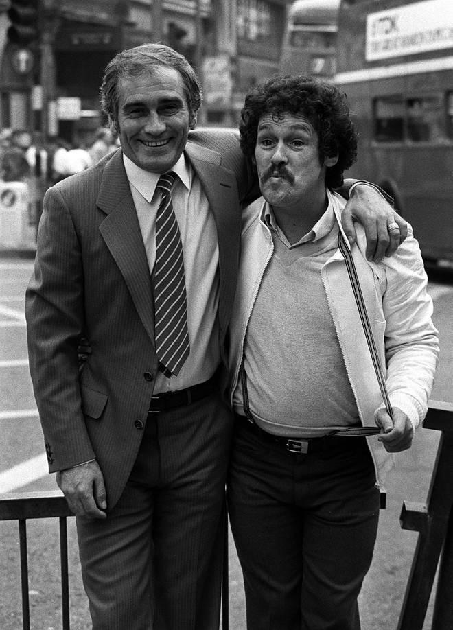 The manager of TV star Bobby Ball (right) confirmed Thursday morning (October 29) that the comedian had died from coronavirus.