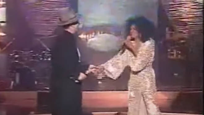 The show was taped before a live studio audience in London in 1999 and saw the Diana Ross perform classics such as 'Not Over You Yet' and 'Ain't No Mountain High Enough'.