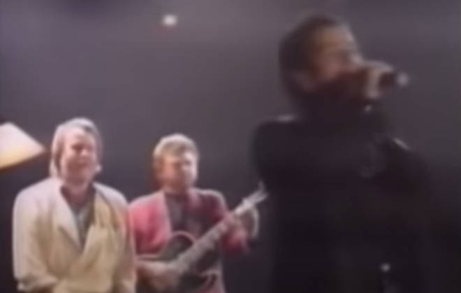 Footage of U2's Bono singing 'Dancing Queen' with Björn Ulvaeus and Benny Andersson from ABBA in 1992 proves that even the most unlikely combinations can create musical gold.