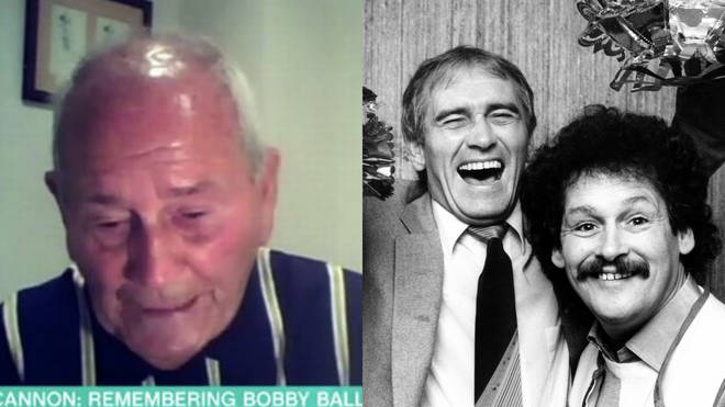 Tommy Cannon remembers his late friend Bobby Ball on This Morning