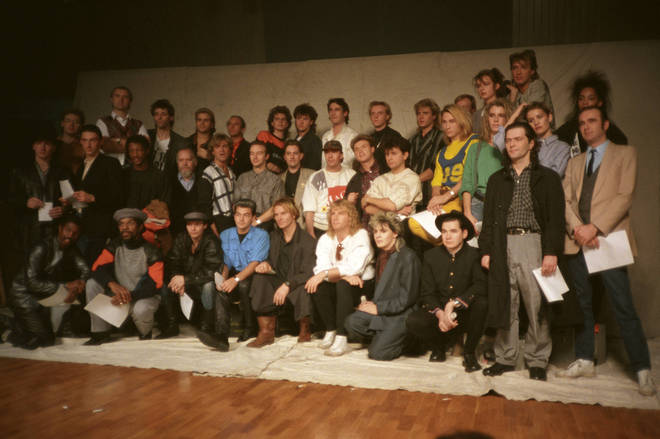 Band Aid in 1984