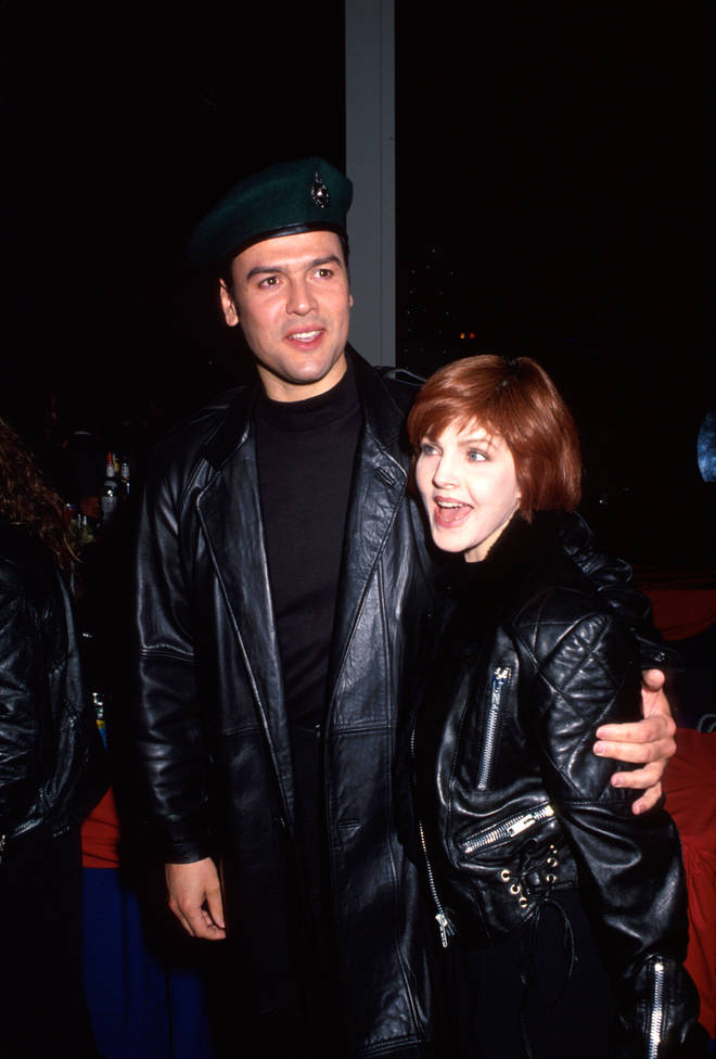 Marco Garibaldi and Priscilla Presley