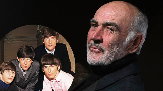 Sean Connery covered The Beatles in 1998