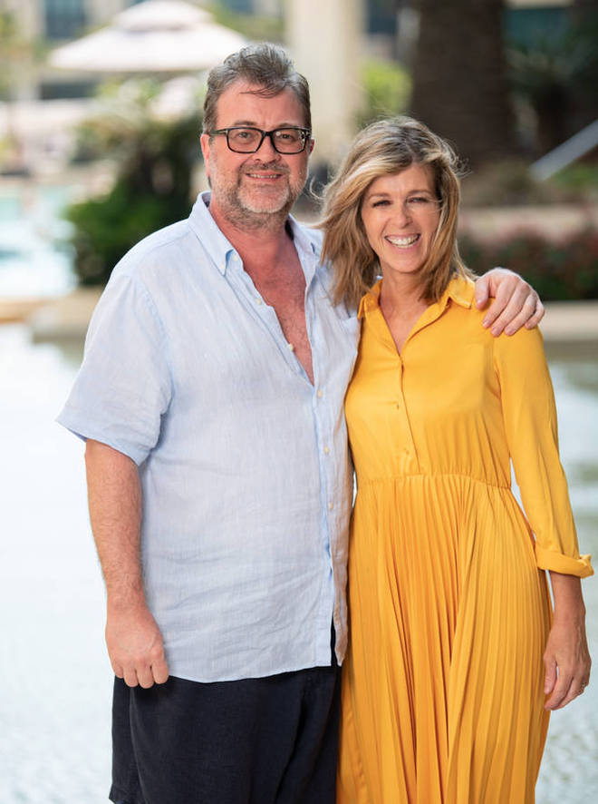 Kate Garraway's husband Derek Draper is still in hospital battling coronavirus