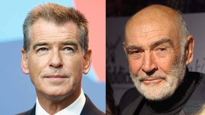 """Posting a black and white picture of the iconic actor on his official Instagram page, Pierce wrote: """"Sir Sean Connery, you were my greatest James Bond as a boy, and as a man who became James Bond himself."""