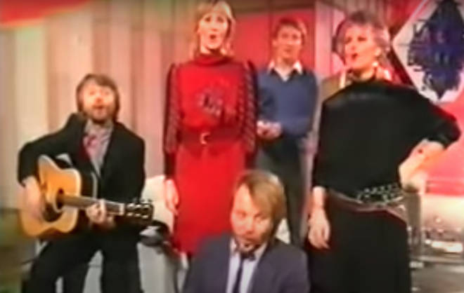 the final footage of the ensemble happened when ABBA sang 'Thank You For The Music' at the end of the show, in footage that wasn't aired until years later.