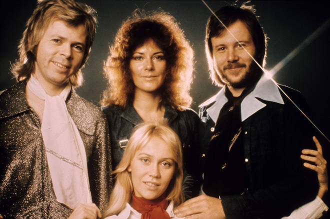 Footage of ABBA singing 'Thank You For The Music' in front of a small live studio audience is the last time the four would perform together for three decades.