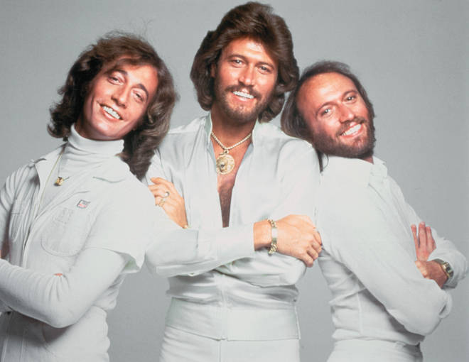 Robin Gibb (left) passed away in 2012 after battling cancer for a number of years, while his twin brother Maurice (right) died in 2003 due to complications of a twisted intestine. Pictured in 1977.