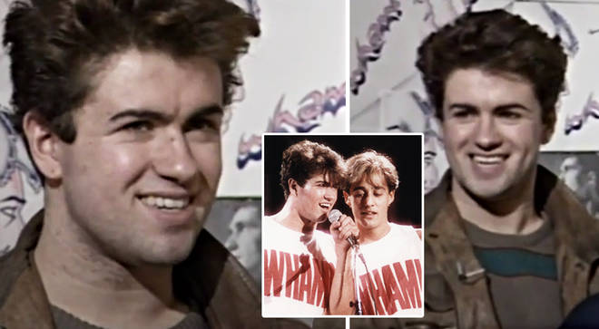 Teenage George Michael reveals story of how Wham! got its name in interview clip from 1983