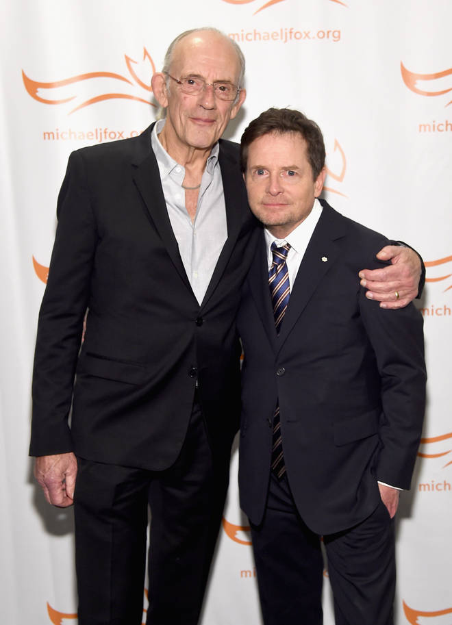 Michael J Fox and Christopher Lloyd in 2018