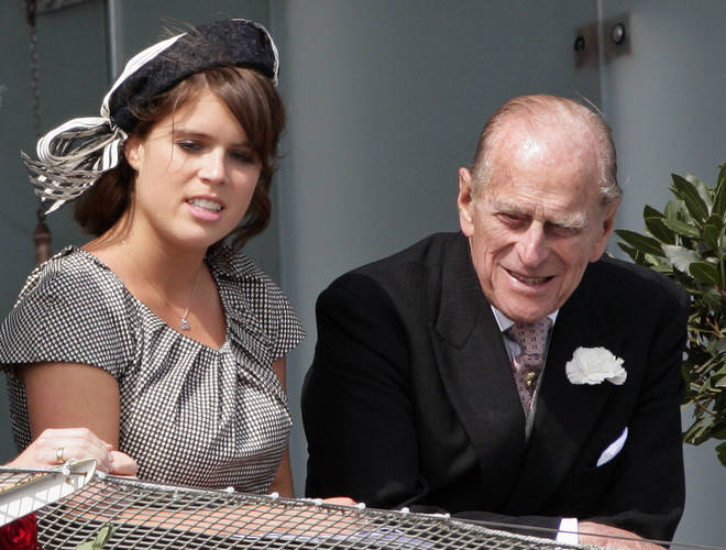 Eugenie and Prince Philip