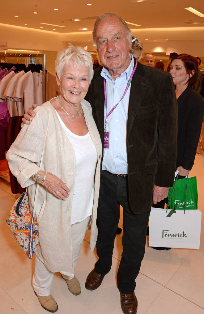 Geoffrey Palmer and Judi Dench in 2014