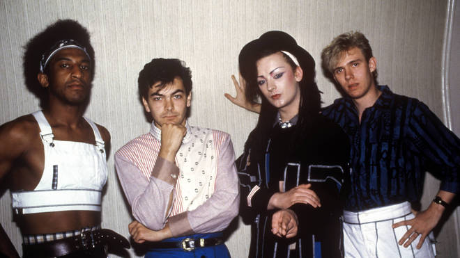 Culture Club (R-L, Mikey Craig, Jon Moss, Boy George, Roy Hay)