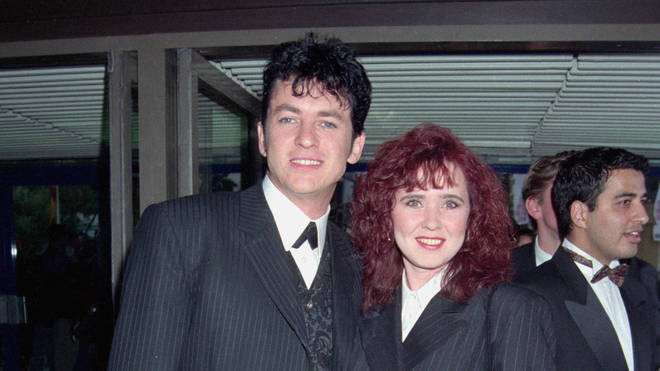 Shane Richie and first wife Coleen Nolan in 1995