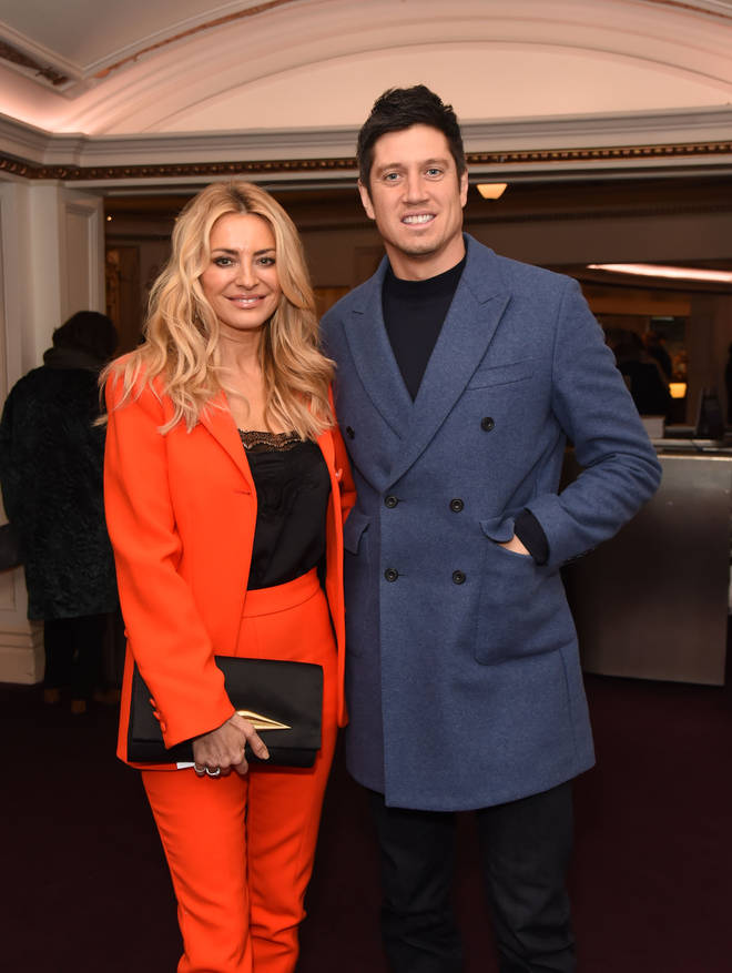 Vernon Kay and Tess Daly in 2020